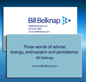 Bill Belknap Business Card